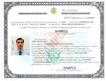 U S Citiz Naturalization Law Offices Of Steven A